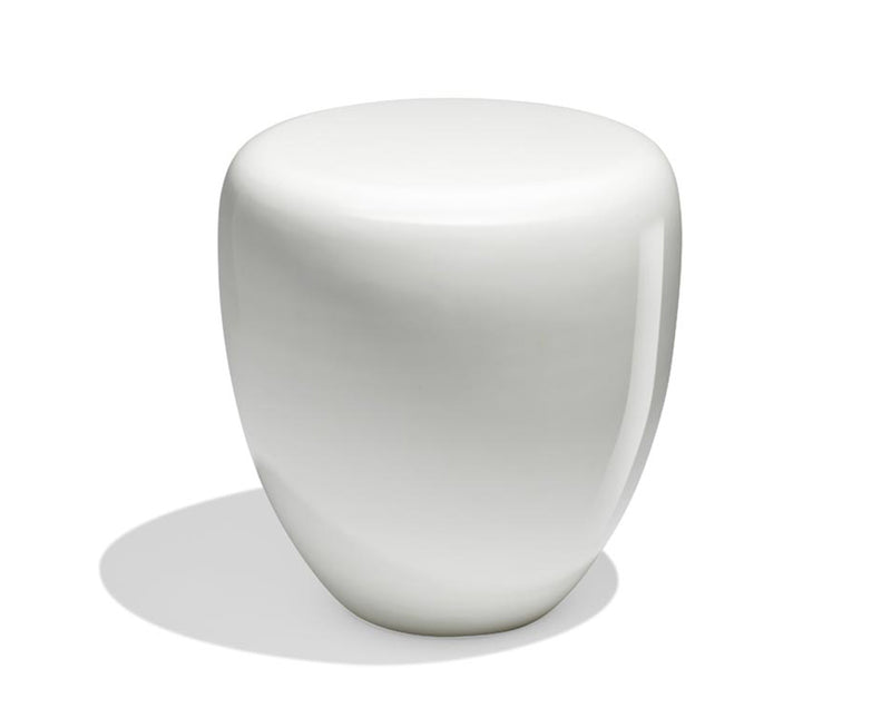 Dot Table Stool - Milky White Matte | DSHOP