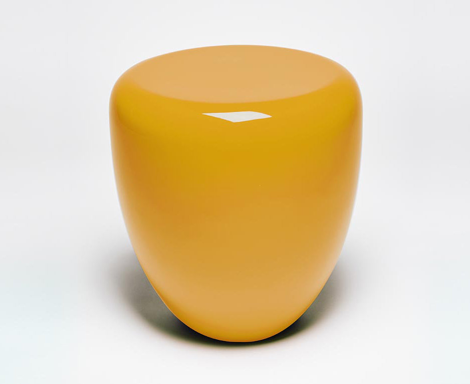 Dot Table Stool - Warm Saffron