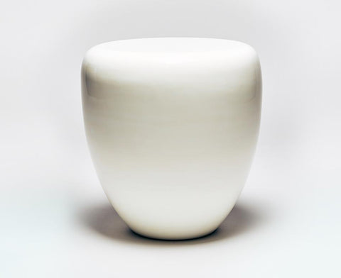 Dot Table Stool - Milky White