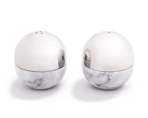Dual Salt & Pepper Shakers