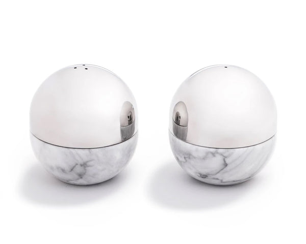 Dual Salt & Pepper Shakers Stainless Steel | DPAGES
