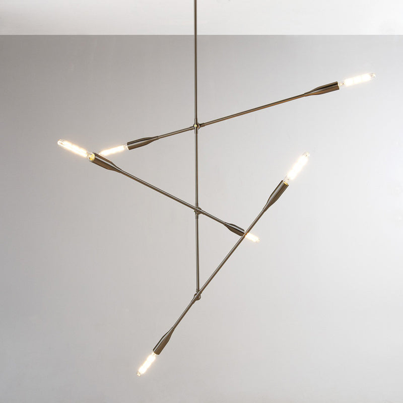 Three Arm Chandelier | DSHOP