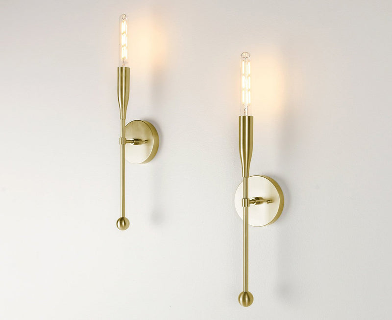 Sorenthia Sconce in brass by Studio Dunn | DSHOP