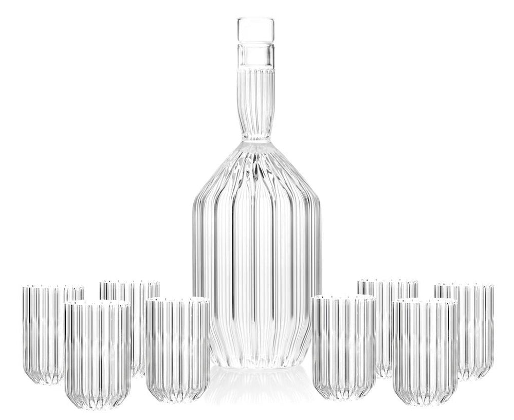 Margot Decanter & Dearborn Mini Glasses | DSHOP