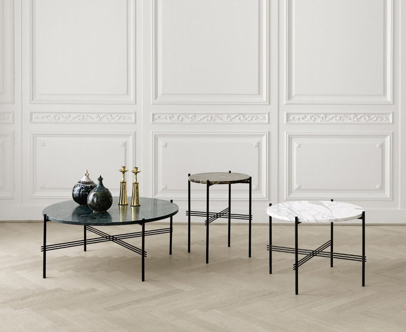 Gubi TS Lounge Table Medium - Marble | DSHOP