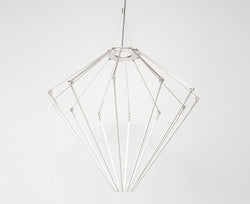 Thin Chandelier - Satin Nickel | DSHOP