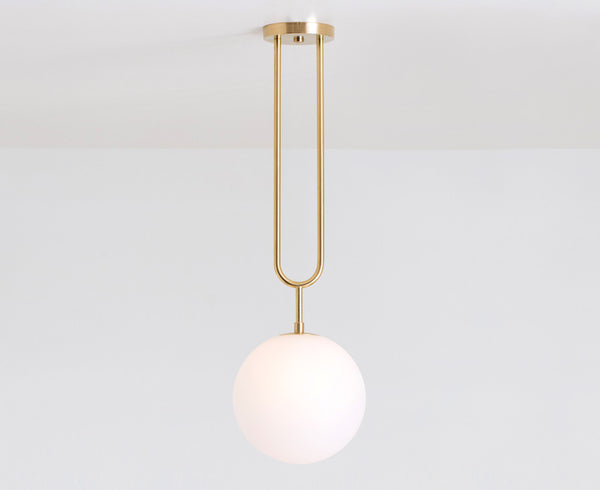 Brass Koko Fixed Pendant Light
