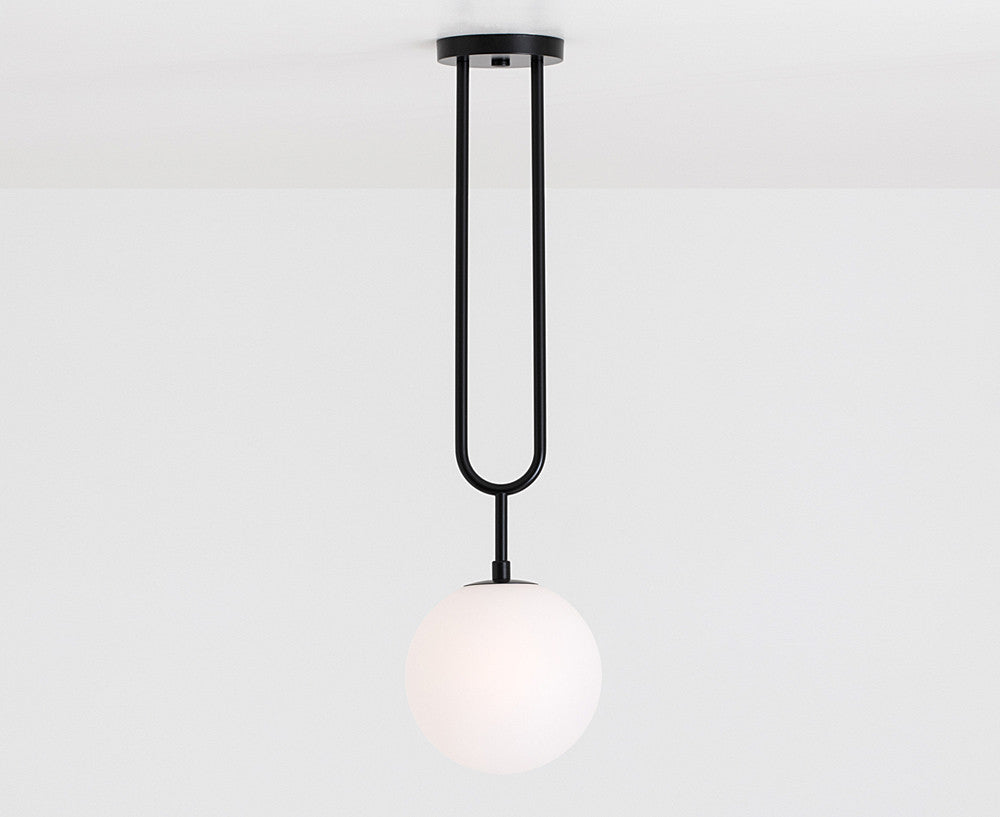 Koko Fixed Pendant Light - Black