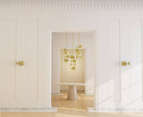 Le Royer Chandelier | Brass