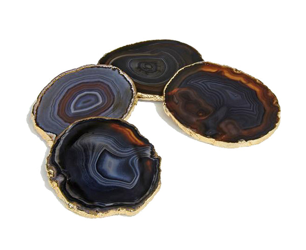 Lumino Coasters - Midnight - Gold | DSHOP