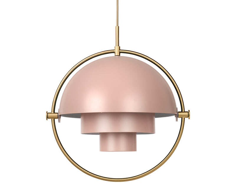 Multi-Light Pendant - Brass/Rose Dust | DSHOP