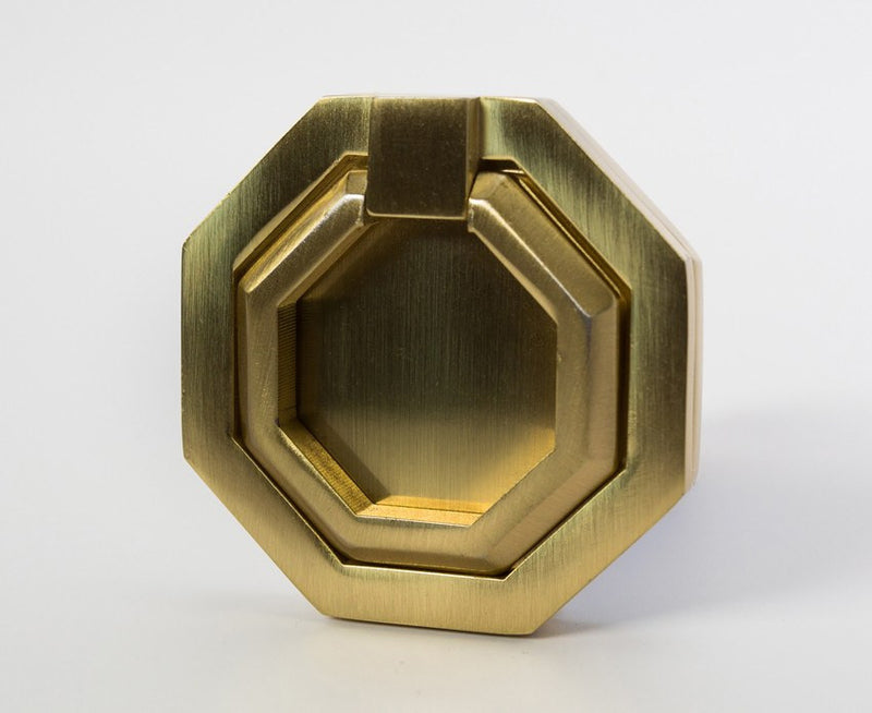 Facet-03 Pull - Satin Brass