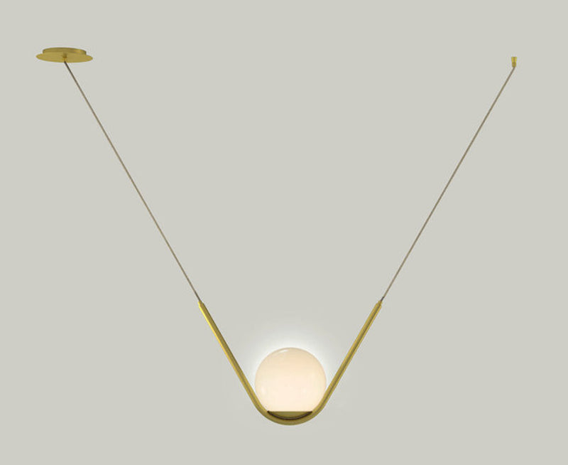 Perle 1 Pendant Light by Larose Guyon