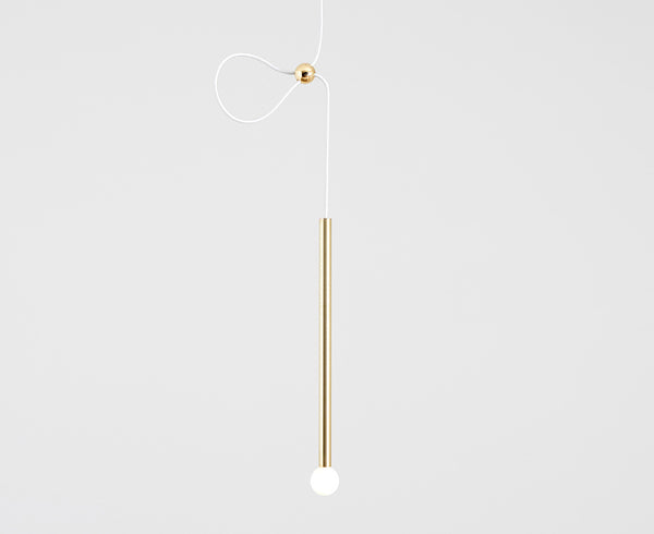 Strike Pendant Light - Brass