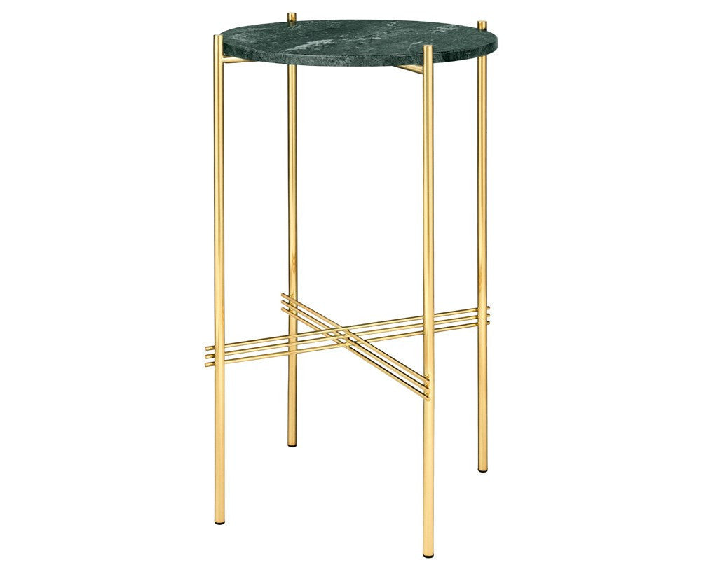 TS Round Console 40 - Marble by Gubi | DSHOP