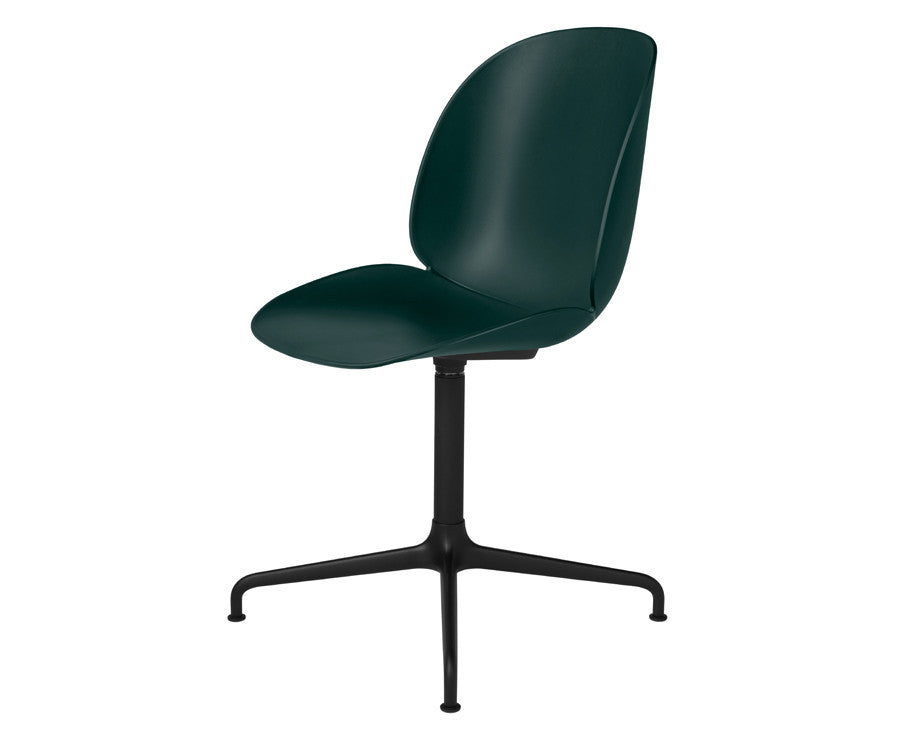 Green Gubi Beetle Dining Chair - Casted Swivel Base | DSHOP
