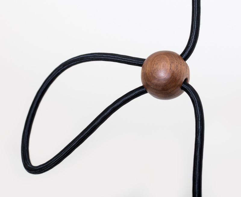 Vessel Pendant Light with Walnut Ball | DSHOP