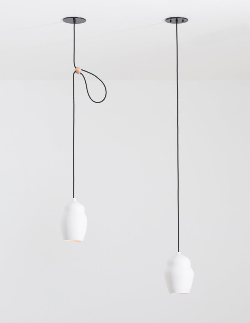 Porcelain Vessel Pendant Lighting | DSHOP