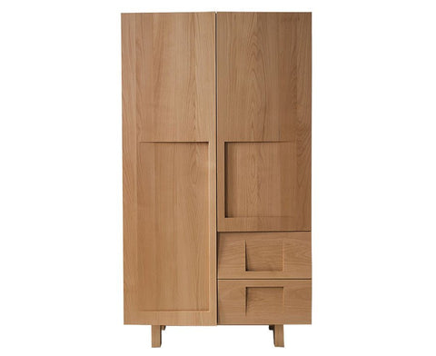 Workstead Beech Wood Wardrobe