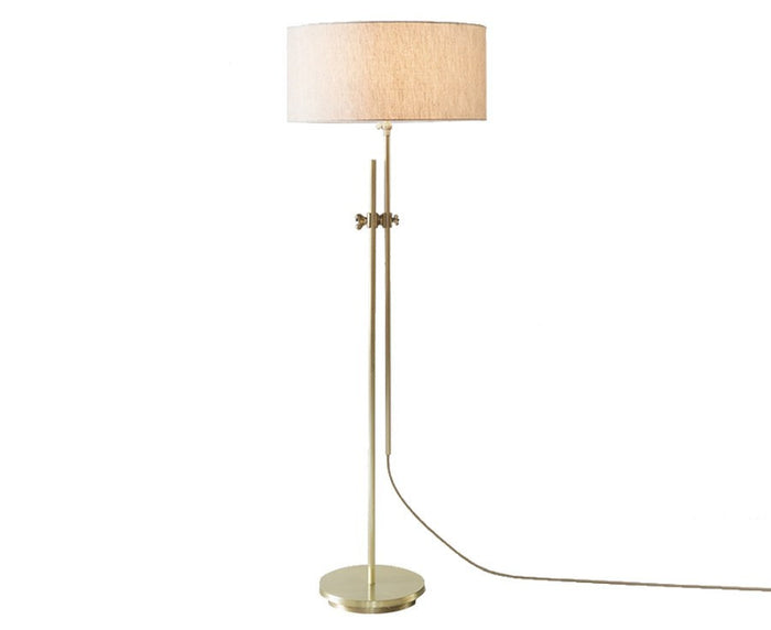 Workstead Shaded Brass Floor Lamp | DSHOP