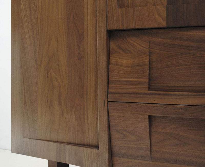 Walnut Wood Wardrobe | DSHOP