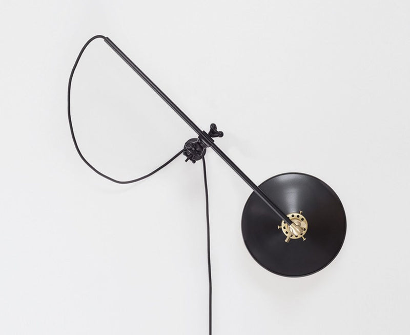 Industrial Black Wall Lamp by Workstead | DSHOP