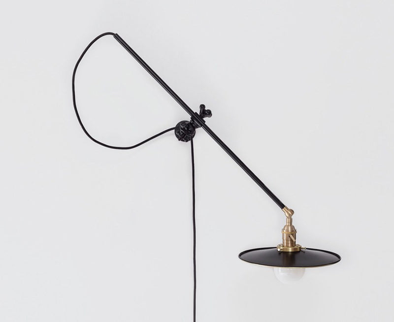 Industrial Black Wall Lamp | DSHOP