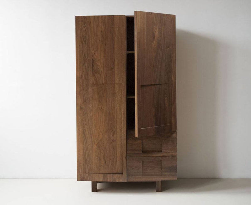 Walnut Wood Wardrobe by Workstead | DSHOP