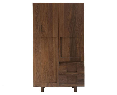 Workstead Walnut Wood Wardrobe