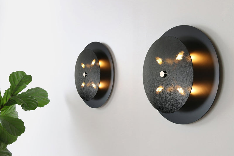 Black Glass Sconce | DSHOP