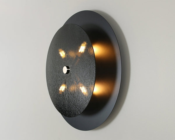Equinox Sconce - Glass - Black | DSHOP