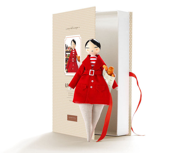 Emma Shopping Doll - Red Coat