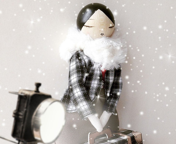 Emma Travels Doll by Marbushka