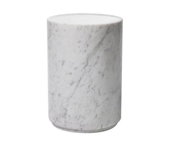 Amara Side Table - Carrara Marble | DSHOP