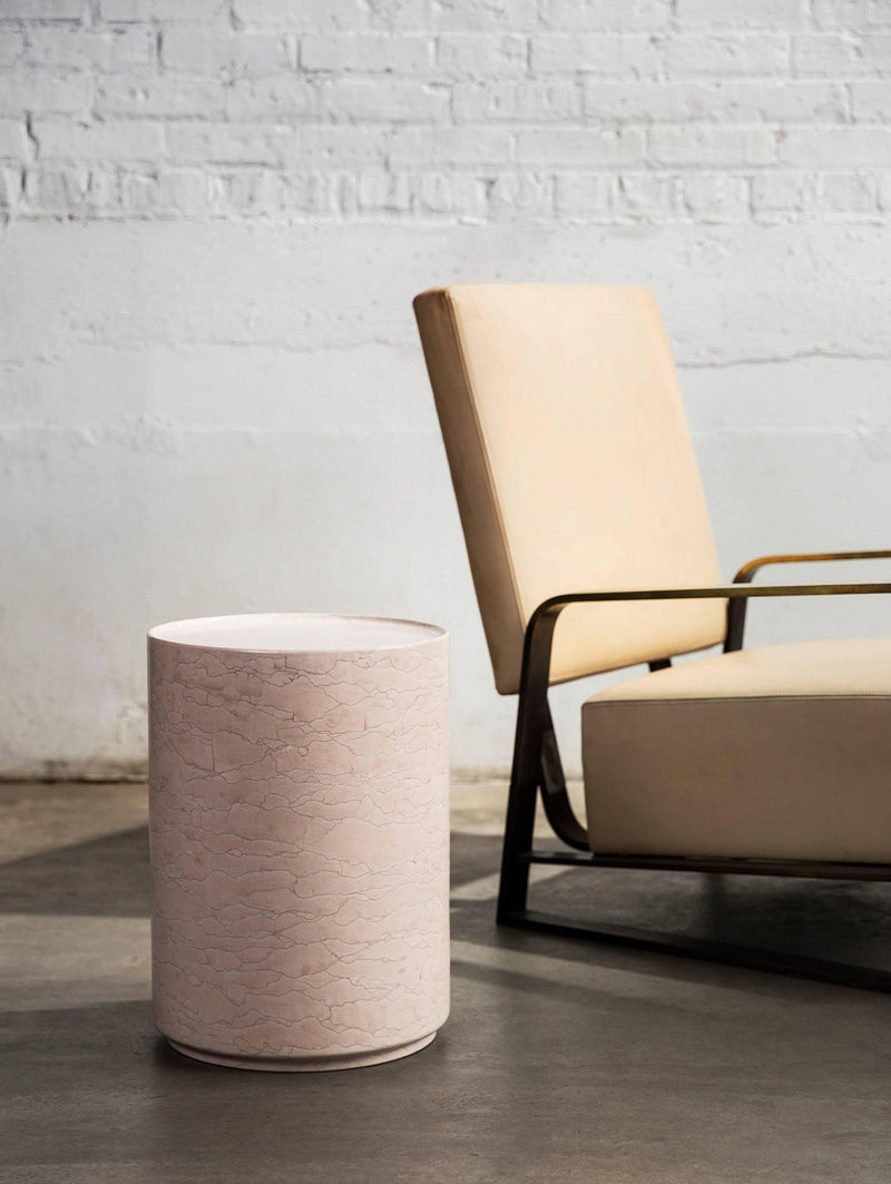 Pink Marble Side Table | DSHOP
