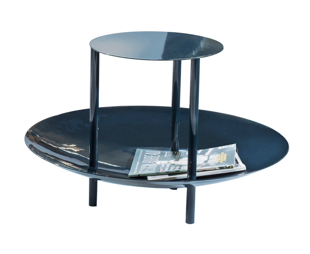 Magazine Table - Gray Blue