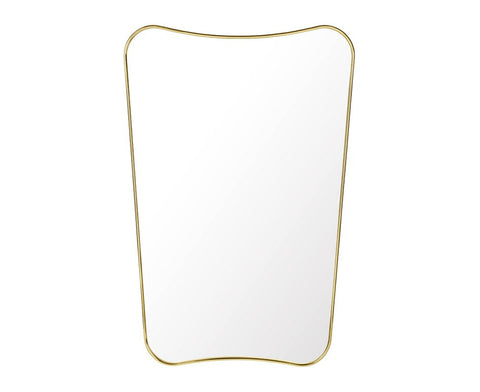 F.A. 33 Rectangular Wall Mirror - Half Length
