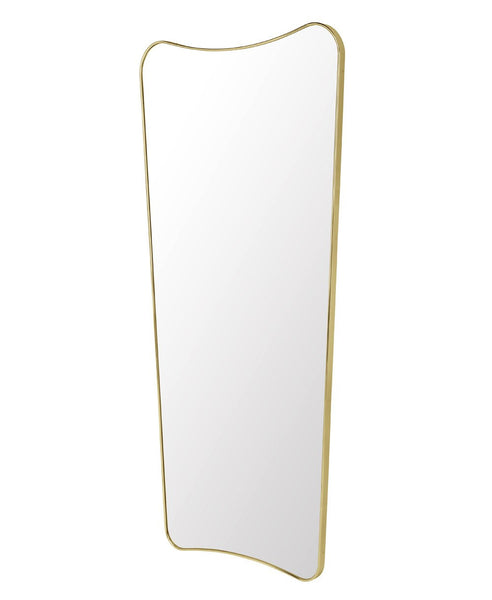 F.A. 33 Rectangular Wall Mirror - Full Length | Polished Brass