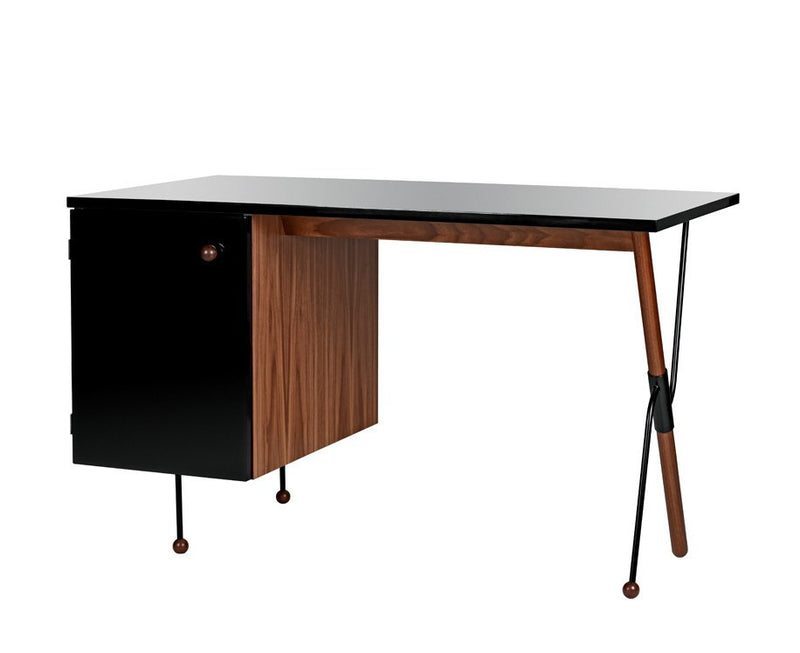 Greta Grossman 62-Series Desk in Walnut | DSHOP