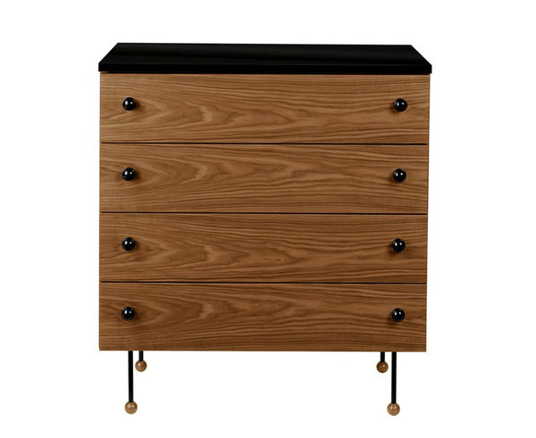 Greta Grossman 62-Series Dresser | Walnut