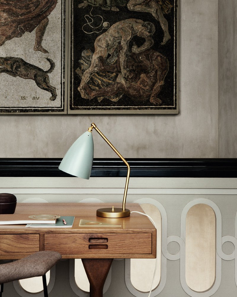 Grasshopper Table Lamp by Greta Magnusson Grossman