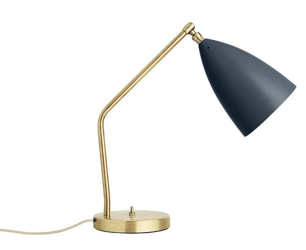 Grasshopper table lamp in anthracite grey | DSHOP