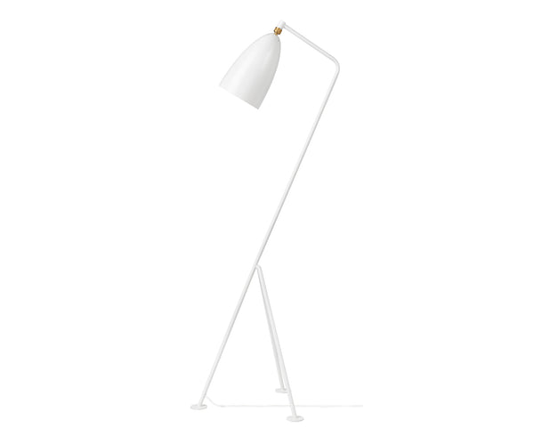 Grasshopper GM1 Floor Lamp in Matte White | DSHOP
