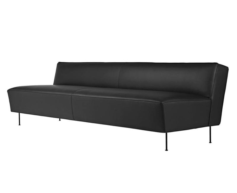 Leather Modern Line Sofa - 3 Seater | DSHOP