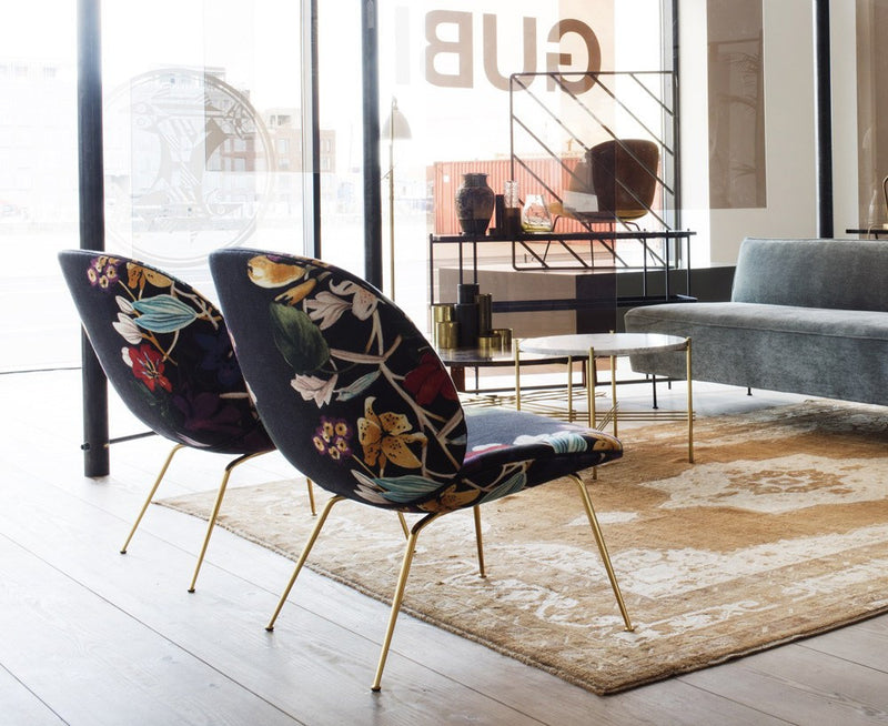 Upholstered Beetle Lounge Chair by Gubi | DSHOP