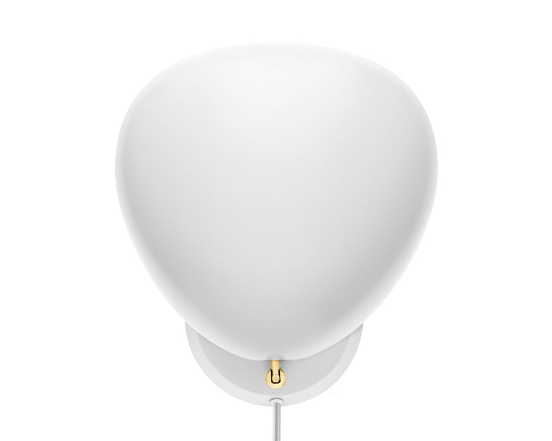 Cobra Wall Lamp - Matte White by Greta Grossman | DSHOP
