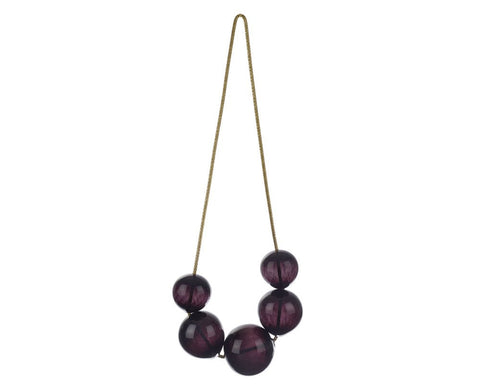 Blown Glass Bubbles - Black