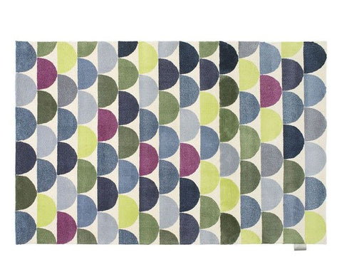 Lapp Platinum Rug - Blue Green