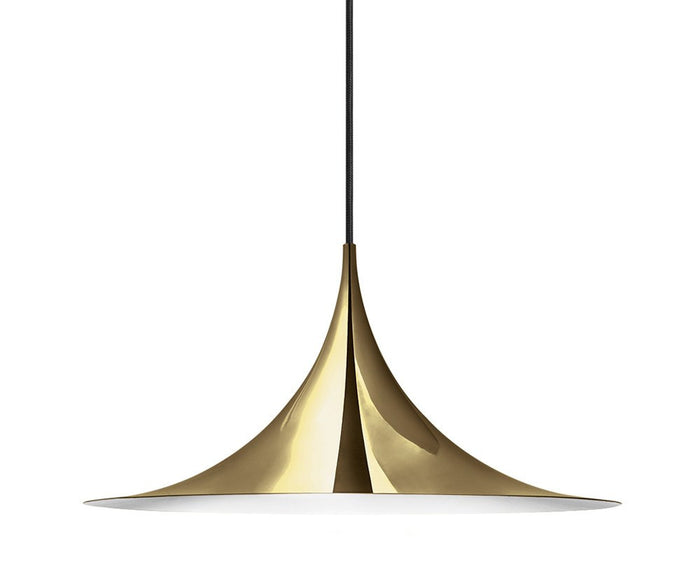 Semi Pendant - All Brass