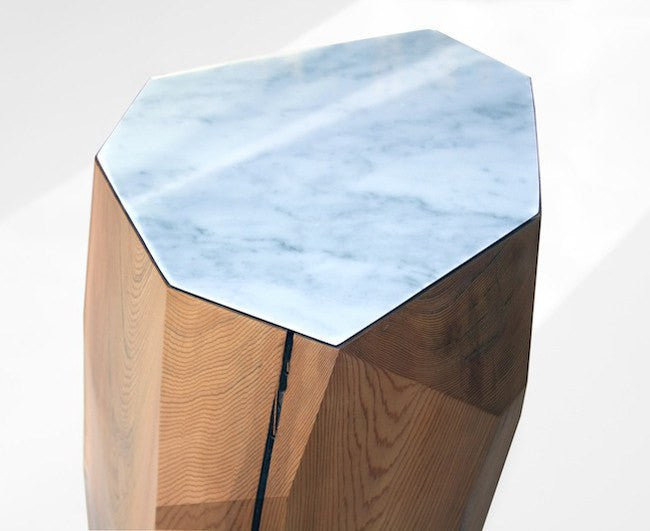Little Gem Table - Whitewash